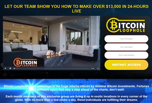 Bitcoin Loophole screenshot